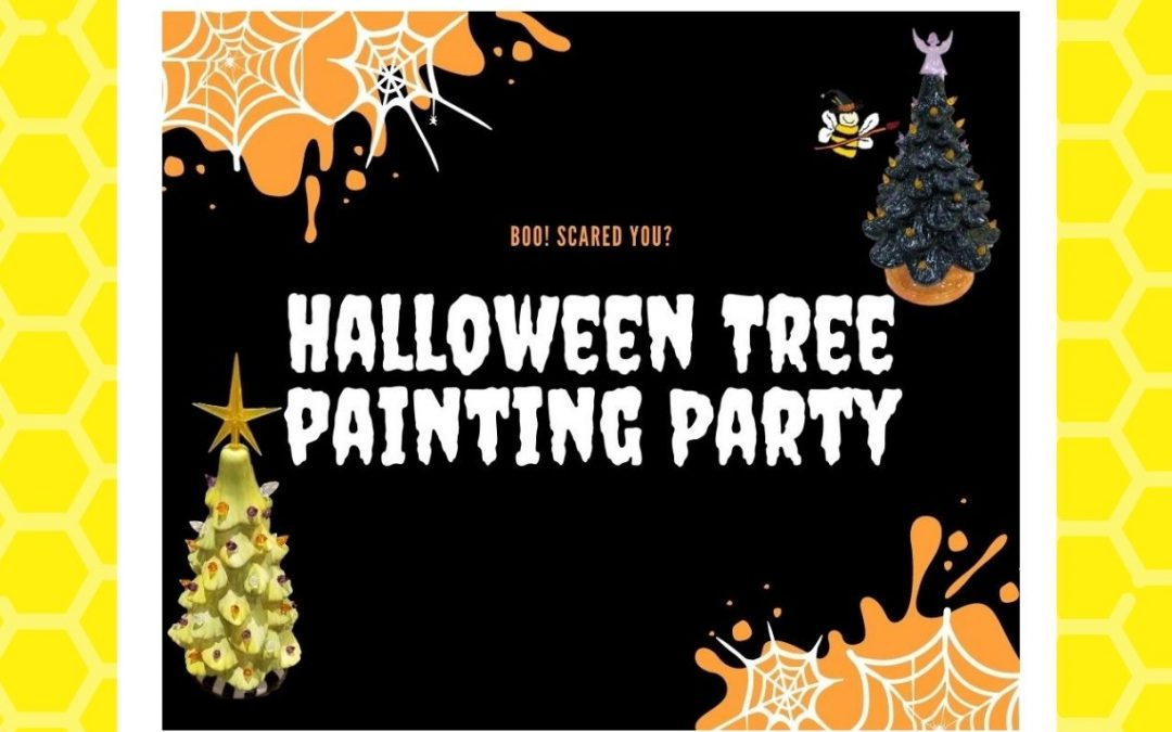 Halloween Tree Party (All Ages Paint Party)